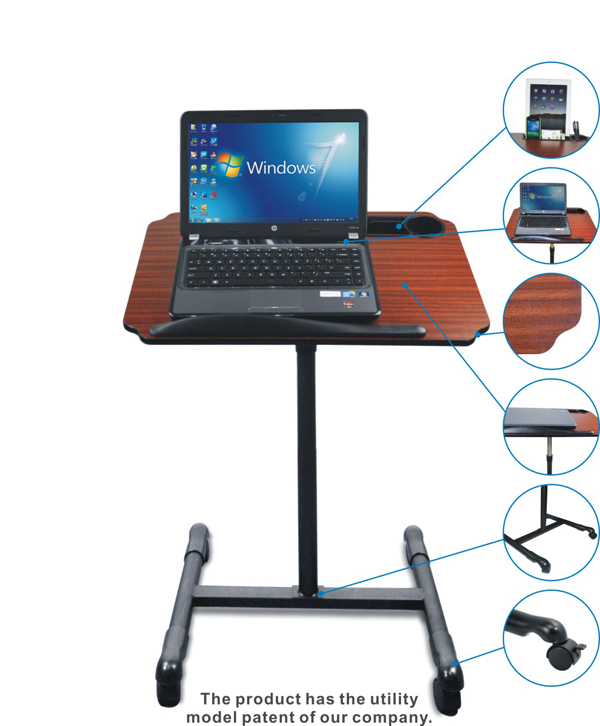 A Simple And Useful Multifunctional Laptop Table LY NBT83