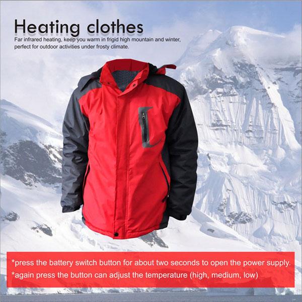 Heated Fleece Jacket